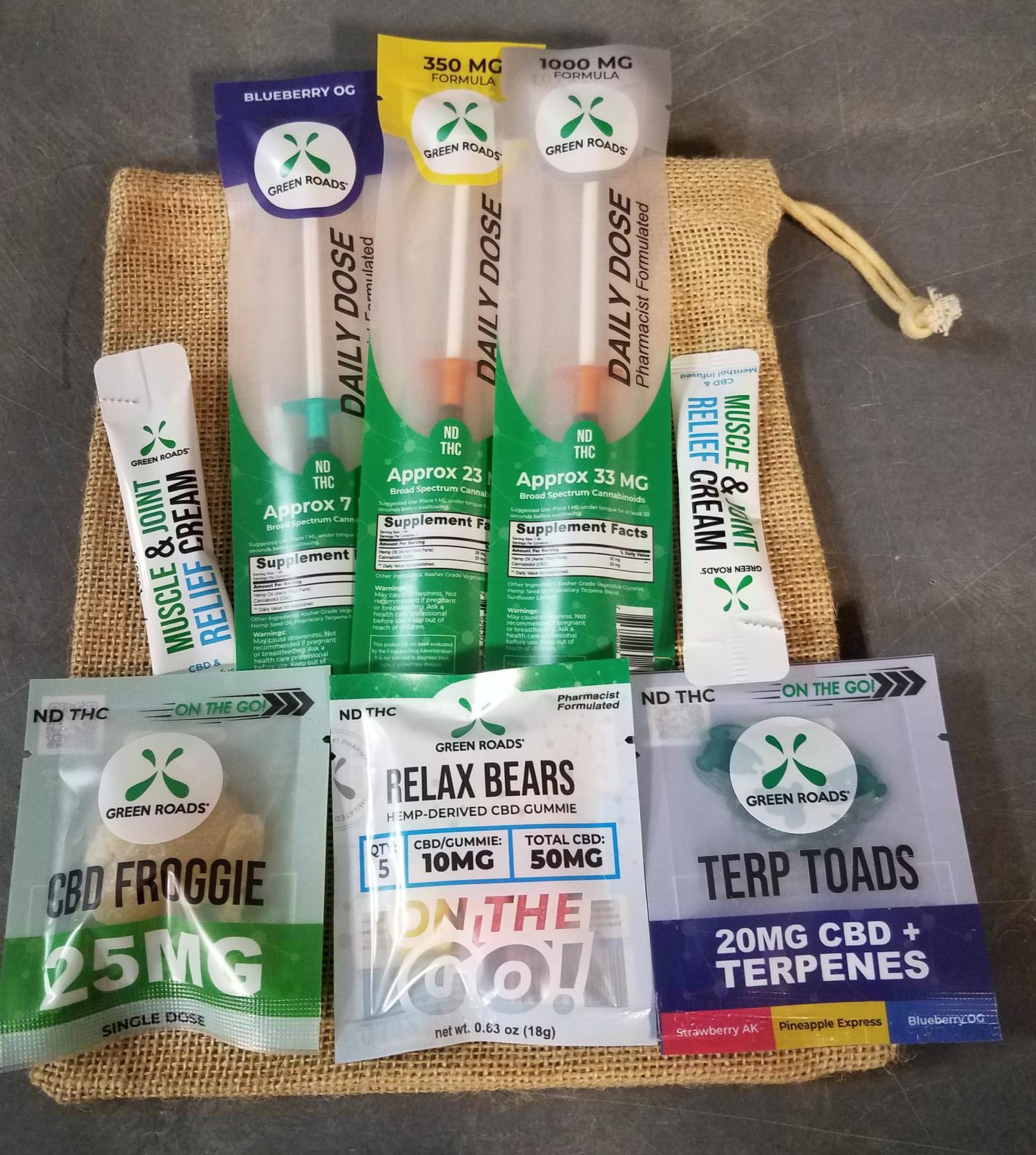 Green Roads Intro Starter Bag 8pc