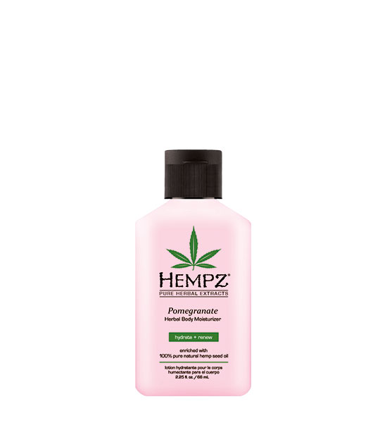 Hempz Herbal Pomegranate Moisturizer 2.25oz