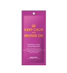 Keep Calm & Bronze On Black Bronzer Pk .57oz