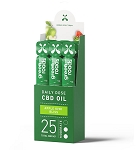 Broad Spectrum - Apple Kiwi Bliss 25mg CBD Oil Daily Dose 2mL x 12pk