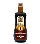 Australian Gold SPF 8 Spray Gel with Bronzer 8oz