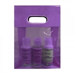 Lavender Poly Prop Clearview Shopping/Gift Bag