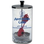 AG Eyewear Sanitizing Glass Container