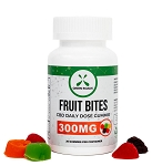 Green Roads CBD Fruit Bites 300mg - 30ct