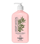 Hemp Nation White Peach & Hibiscus Body Lotion 18oz