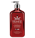 Hempz Frosted Peppermint & Vanilla Sugar Whipped Body Creme 17oz