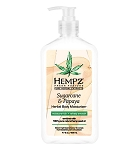 Hempz Fresh Fusions Sugarcane & Papaya Moisturizer 17oz <br><i>With Bonus 2.25oz Mini!</i>