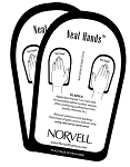 Norvell Disposable Cardboard Sunless Neat Hands
