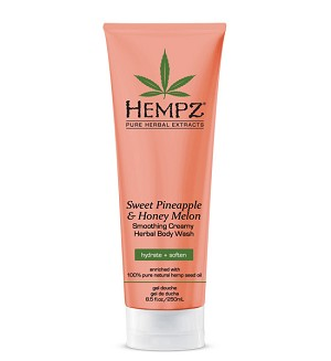 Hempz Sweet Pineapple & Honey Melon Creamy Body Wash 8.5oz