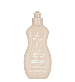 Hempz Beauty Koa & Sweet Almond Smoothing Bubble Bath 6.76oz