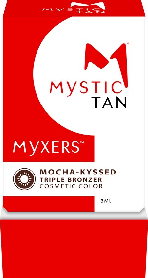 Mystic Tan Mocha-Kyssed Triple Bronzer Myxer 3ml