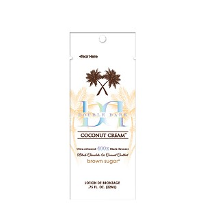 Black Chocolate Double Ddark Coconut Cream 400X .75oz