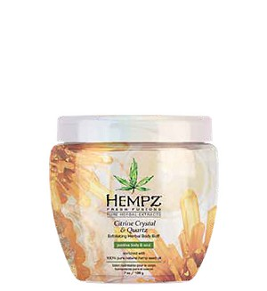Hempz Fresh Fusions Citrine Crystal & Quartz Body Buff 7oz