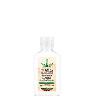 Hempz Fresh Fusions Sugarcane & Papaya Moisturizer Mini 2.25oz