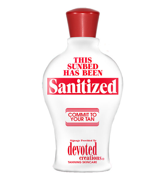Devoted Creations Sanitized Bed Sign Bottle
