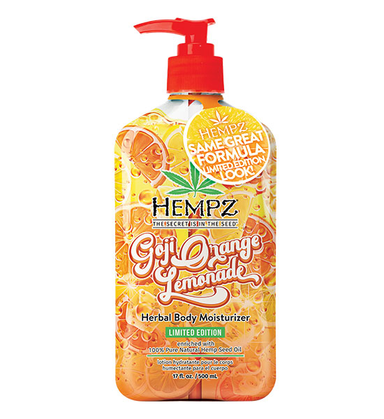 Hempz Goji Orange Lemonade Body Moisturizer 17oz