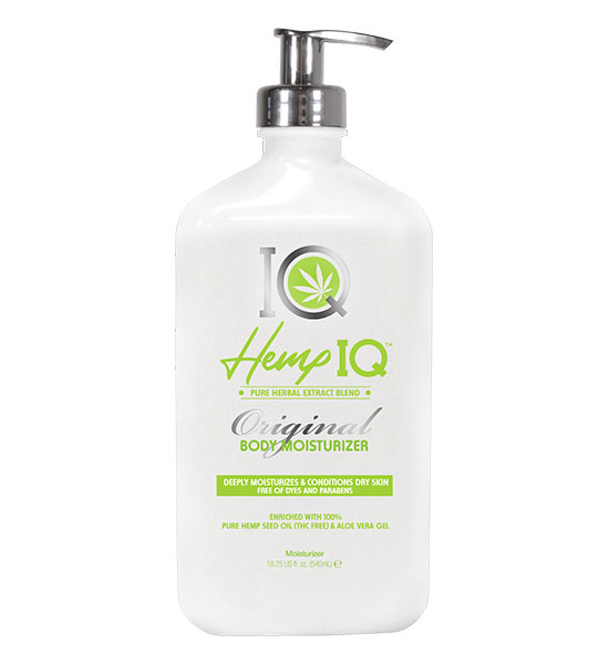 Hemp IQ Original Body Moisturizer 18.25oz
