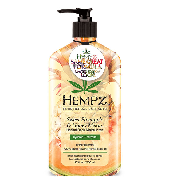 Hempz Limited Edition Sweet Pineapple & Honey Melon Moisturizer 17oz