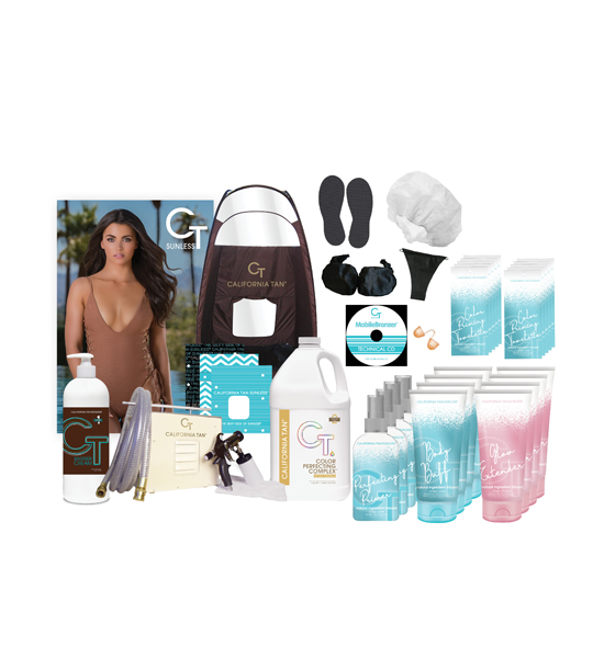 California Tan VIP MobileBronzer Starter Deal