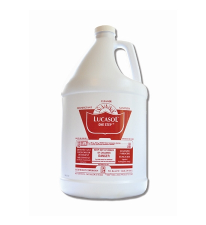 Lucasol One Step Hospital Grade Disinfectant – Gallon