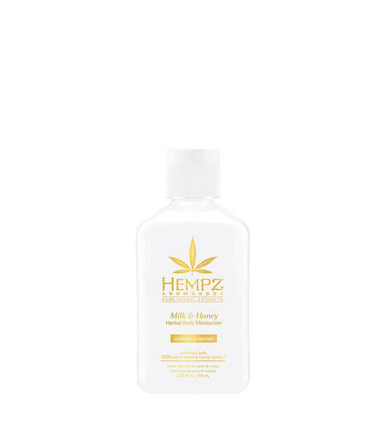 Hempz Aromabody Milk & Honey Moisturizer 2.25oz Mini