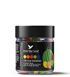 Green Roads CBD Sour Gummies 250mg - 25ct <i>Free The Leaf</i>