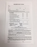 Client Record Card - Membership Form 50pk